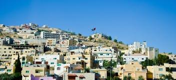 Punto di vista di Jordan City Fotografie Stock