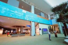 Punto di vista di Kuala Lumpur International Airport Fotografie Stock Libere da Diritti