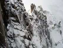Punto di vista di Mont Blanc, Chamonix-Mont-Blanc, Francia Immagine Stock Libera da Diritti