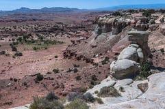 Punto di vista di San Rafael Swell, Utah Fotografia Stock Libera da Diritti