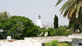 Punto di vista di Sidi Bou Said, Tunisia Immagini Stock Libere da Diritti