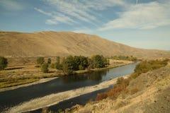 Punto di vista di Yakima River Fotografie Stock