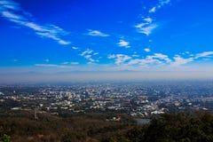 Punto di vista Doi Suthep, Tailandia Immagini Stock