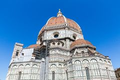Punto di vista esteriore di Florence Cathedral in Italia Fotografia Stock