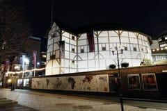 Punto di vista esterno del GlobeTheatre di Shakespeare Fotografia Stock Libera da Diritti