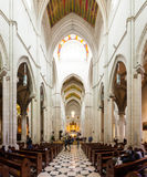 Punto di vista interno di Almudena Cathedral Fotografia Stock Libera da Diritti