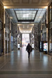 Galleria di acquisto a Praga Fotografia Stock Libera da Diritti