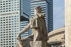 Punto di vista ironico del passato e del capitalista del comunista presenti Fotografia Stock Libera da Diritti