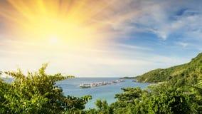 punto di vista di Koh Larn, Pattaya Immagine Stock Libera da Diritti
