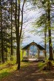 Punto di vista di Mescery- Marianske Lazne Marienbad - la repubblica Ceca fotografie stock
