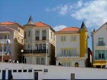 Punto di vista di Nazare Il Portogallo, Europa immagini stock