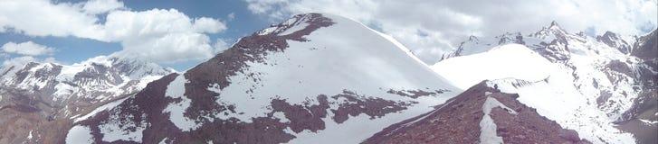 Punto di vista nella montagna nel Nepal Fotografia Stock Libera da Diritti