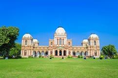 Punto di vista di Noor Mahal Palace in Bahawalpur Immagine Stock