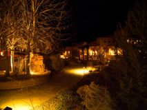 Punto di vista di notte di Paradox Grill fotografie stock libere da diritti
