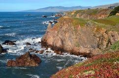 Punto di vista panoramico dell'oceano Pacifico Fotografie Stock