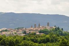 Castel del Piano (Toscana) Immagine Stock