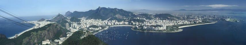 Punto di vista panoramico di Rio de Janeiro, Brasile Fotografie Stock