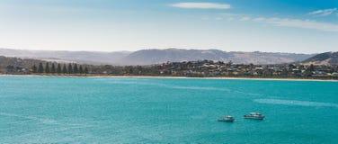 Punto di vista panoramico di Victor Harbor Immagine Stock