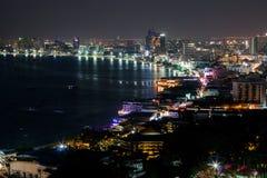 Punto di vista Pattaya Fotografie Stock Libere da Diritti