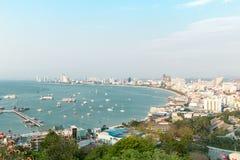 Punto di vista Pattaya Fotografia Stock