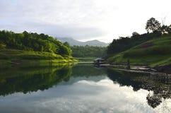 Punto di vista Pom pi. Sosta nazionale di Khao Laem Fotografia Stock