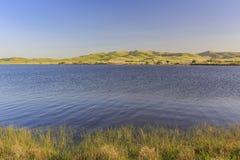 Punto di vista di pomeriggio di bello San Luis Creek Kiosk immagini stock libere da diritti