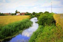 Punto di vista Risonanza Regno Unito di Romney Marsh fotografia stock libera da diritti