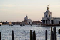Punto di vista di San Giorgio Maggiore Immagini Stock Libere da Diritti