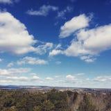 Punto di vista splendido del cielo Immagine Stock Libera da Diritti