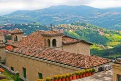 Punto di vista superiore del San Morino, Italia Fotografie Stock