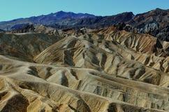 Punto di Zabriske, parco nazionale di Death Valley, California, U.S.A. Fotografia Stock