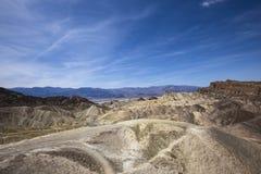Punto di Zabriskie, Death Valley, California Immagini Stock Libere da Diritti