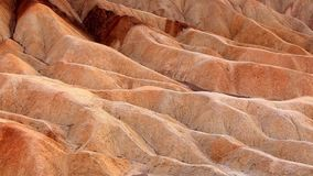 Punto di Zabriskie, parco nazionale di Death Valley, California, U.S.A. Fotografia Stock Libera da Diritti