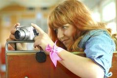 Punto-e-spari la macchina fotografica Immagini Stock