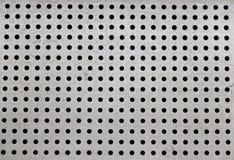 Punto en textura del hierro Foto de archivo