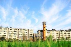 Punto escénico de Dujiangyan, China Imágenes de archivo libres de regalías