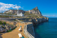 Punto Gibilterra di europa Fotografie Stock
