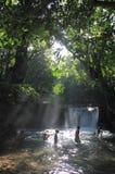 Punto Indonesia de la natación Imagen de archivo libre de regalías