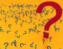 Punto interrogativo Fotografia Stock Libera da Diritti