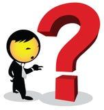 Punto interrogativo Immagini Stock Libere da Diritti