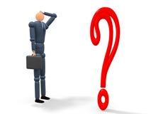 Punto interrogativo v1 Fotografia Stock