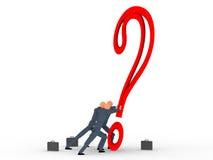 Punto interrogativo v5 Immagini Stock Libere da Diritti