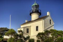 Punto Loma Lighthouse, San Diego, CA Fotografia Stock Libera da Diritti