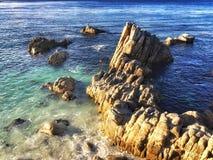 Punto Monterey de los amantes Fotos de archivo libres de regalías
