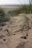 Punto negro en la arena 3 Imagen de archivo libre de regalías