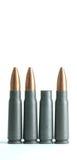 Punto negro gastado del rifle Imagen de archivo