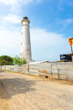 Punto Pedro Lighthouse Road Nobody de Jaffna Fotos de archivo