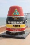 Punto più southernmost Immagini Stock