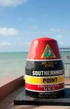 Punto più southernmost, Key West Immagini Stock