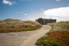 Punto Reyes National Seashore in spiaggia di California immagini stock libere da diritti